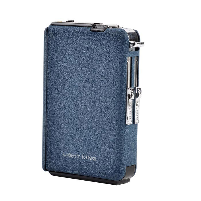 Buy Automatic Ejection Butane Lighter Cigarette Case - Black (Holds 10-Piece) with Litecoins with Free Shipping on Gipsybee.com