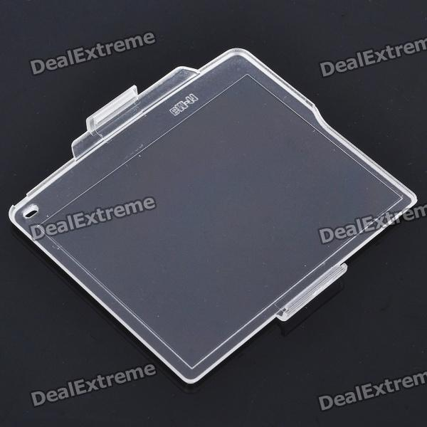 Protective Snap-on Hard Screen Protector Cover for Nikon D7000 / BM-11 LCDScreen Protectors<br>Form  ColorTransparentScreen TypeGlossyPacking List<br>