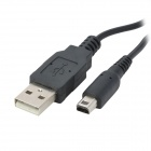 USB Charging Cable for Nintendo 3DS (100cm) - Black