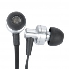 AWEI ES900i estilo In-Ear auriculares w / micrófono para Iphone 4 - plata (3,5 mm-Plug / 125 cm-Cable)