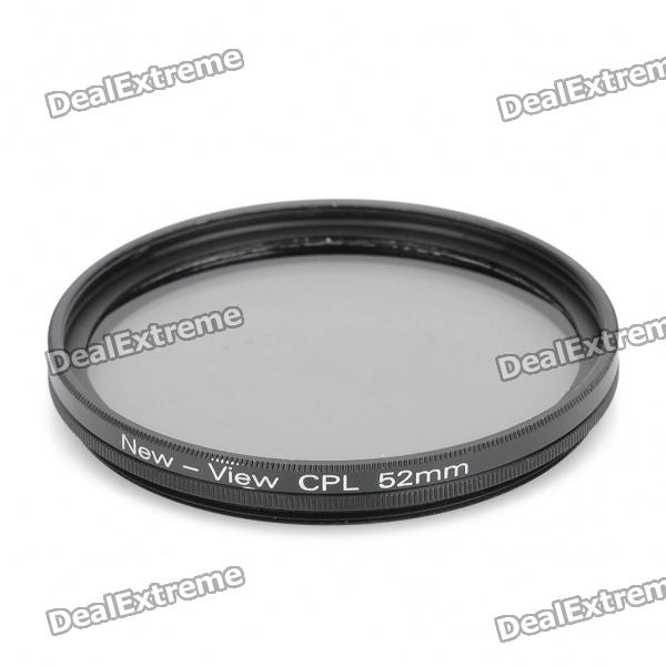 NEW-VIEW CPL Polarizer Lens Filter (52mm)