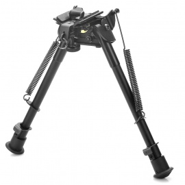 9-Retractable-Aluminum-Alloy-Tactical-Spring-Loaded-Bipod-Rifle-Stand-for-M4-M16-(Max-80Kg)