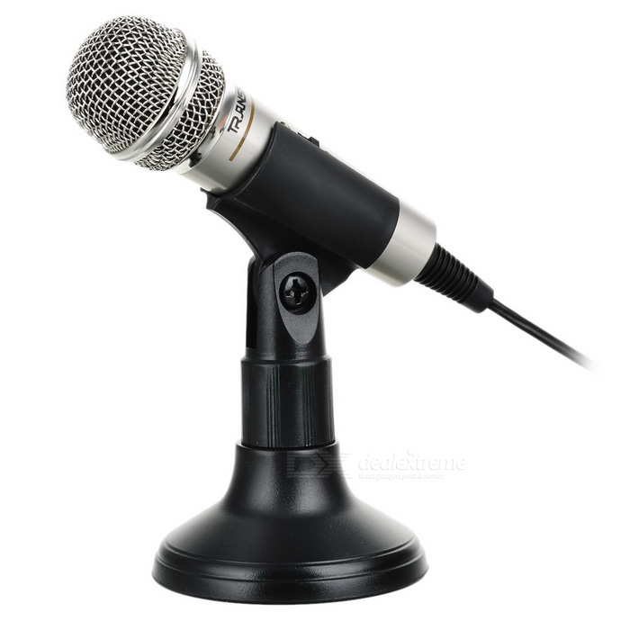 Buy Hi-Fi Electret Microphone for PC (3.5mm Jack) with Litecoins with Free Shipping on Gipsybee.com