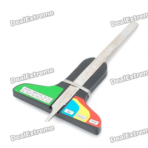 Tire Consumption Gauge Tester Tread Depth Measure