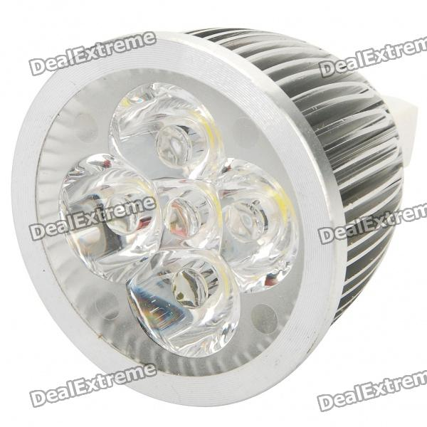 MR16 5W 490-Lumen 6500K Cold White Light 5-LED Cup Bulb (12V)
