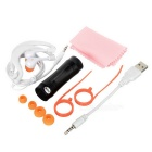 "1,0 ""LCD Deportes Waterproof MP3/FM Stereo Player w / auriculares / cable USB / Correa (4 GB)"
