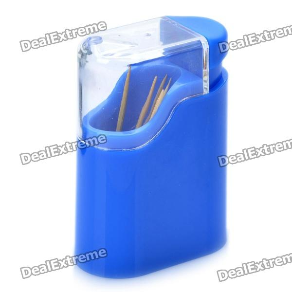 Automatic Toothpick Holder Bottle Dispenser - Random Color
