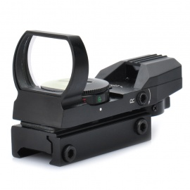 1X-33mm-4-Mode-Red-Green-Laser-Sight-Rifle-Scope-(1-x-CR2032)