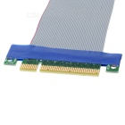 PCI Express PCI-E 8X a 16X Cable plano Riser Card Extender (15.5cm)