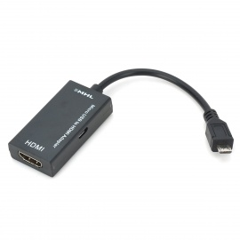 Mobile High Definition Link Mhl Micro Usb To Hdmi Adapter Cable