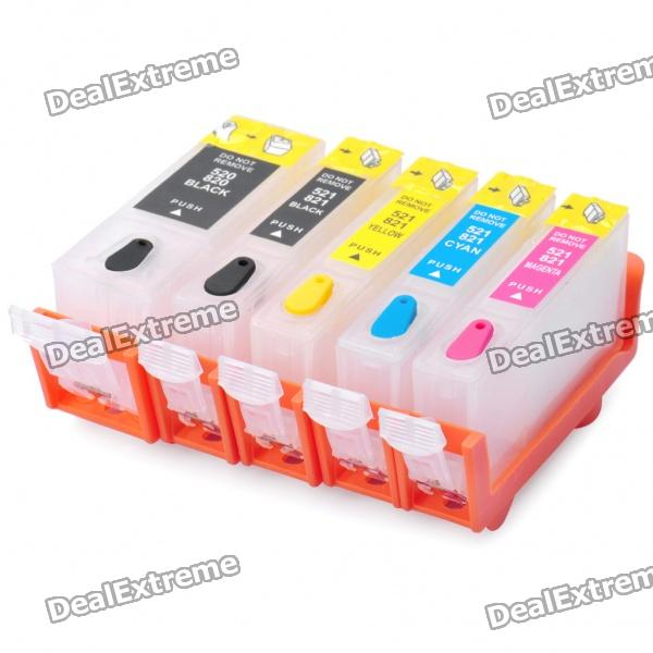 Refillable Ink Cartridge for Canon IP3600 / IP4600 + More