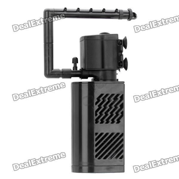 15W-Aquarium-Submersible-Filter-w-Pump-(AC-2207e240V-2-Flat-Pin-Plug)
