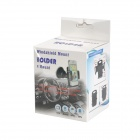 Car Windshield Mount Holder for IPHONE4S/GPS/MP3/MP4 - Black