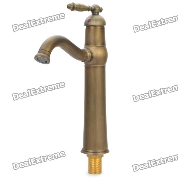 Antique Oil Rubbed Bronze Bathroom Faucet