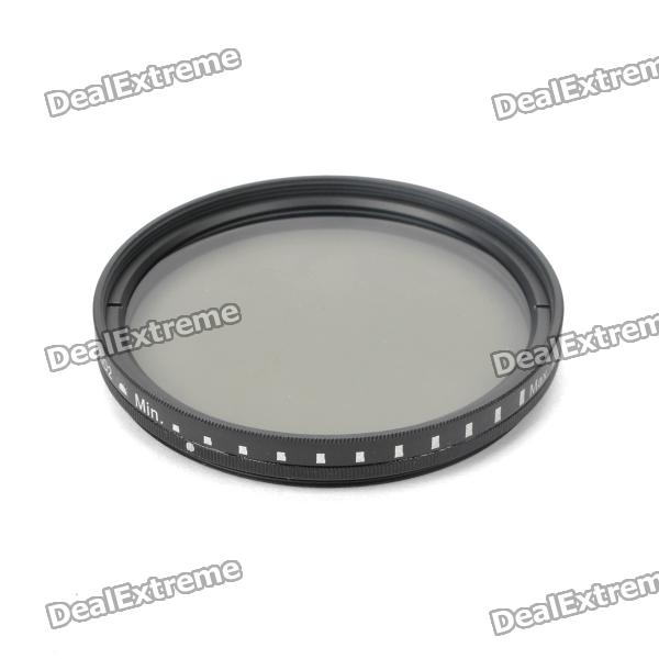 Genuine New-View Variable Neutral Density ND2-400 Fader Filter for DSLR Camera (62mm)
