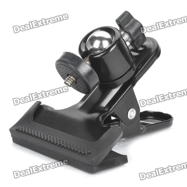 Swivel Clamp Holder Mount for Studio Backdrop Camera - Black
