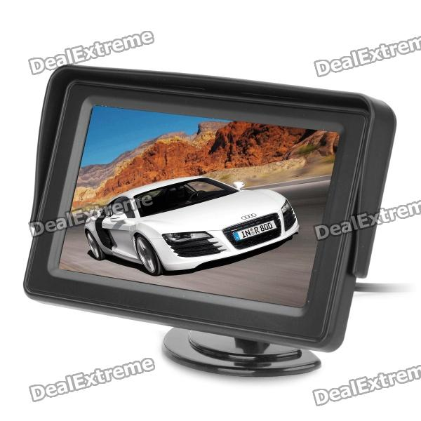 "4.3"" TFT LCD Monitor for Car Vehicle - Black (960 * 468 / DC 12V)"
