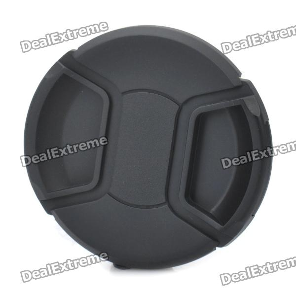 77mm Digital Camera Lens Cap Cover - Black