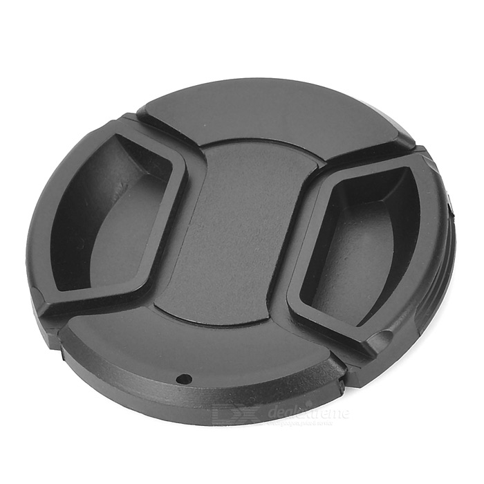 58mm Digital Camera Lens Cover - Black