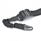 Tactical Military 2 Point Rifle Gun Sling Strap - Black (150cm)