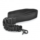 Tactical Military Single Point Rifle Gun Sling Strap - Black (130cm)