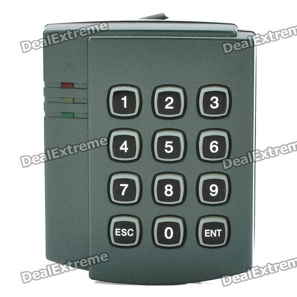 Multifunction Door Access Control Password Card Reader System - Blue Grey
