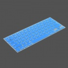 Protective Keyboard Cover w/ Anti-Dust Plugs Kit for Apple MacBook Air / Pro - Blue