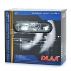 55W 3000K 1000-Lumen 1 x H3 Halogen Bulb Yellow Car Fog Lamps - Transparent Lens (DC 9~16V / Pair)