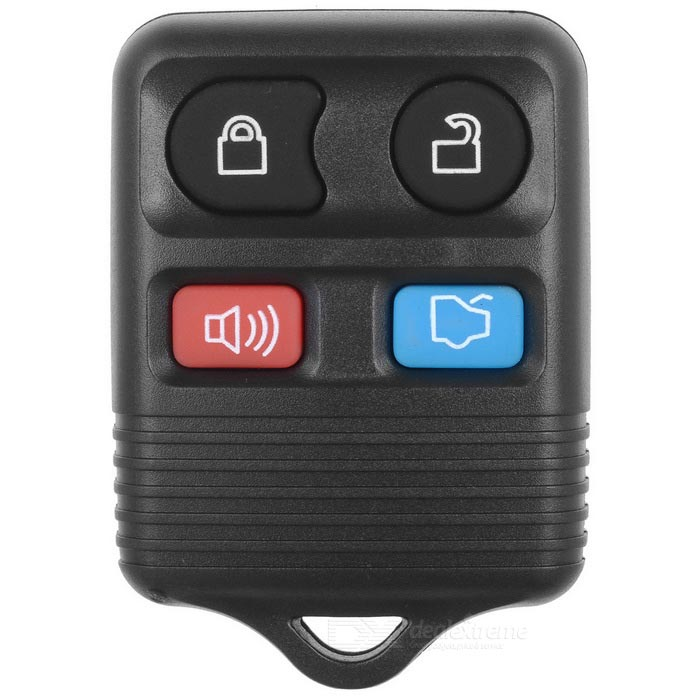 Buy Ford Car 4-Button Remote Key Lock Set - Black with Litecoins with Free Shipping on Gipsybee.com
