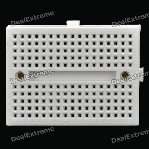 170 Puntos Mini Breadboard - Blanco