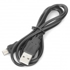USB Data Charging Cable for Samsung Galaxy W I8150 - Black (91cm-Cable Length)