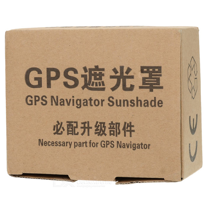 Plastic Sun Shade Visor for 4.3