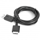 USB Data / Charging Cable for Sony PS Vita - Black (103cm)