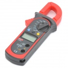 "UNI-T UT202A 1,4 ""-LCD-Digital-Multimeter Clamp - Rot + Grau (1 x 9V 6F22)"