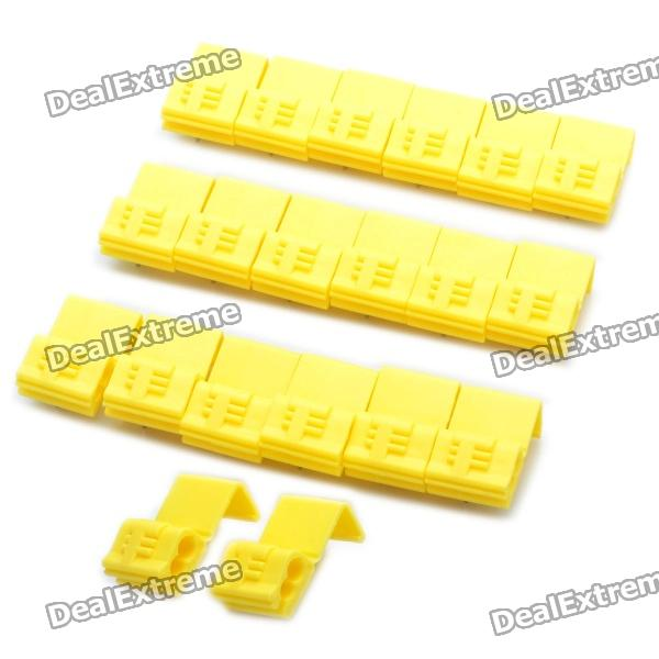 Quick Splice Wire Connector - Yellow (20 Piece Pack)