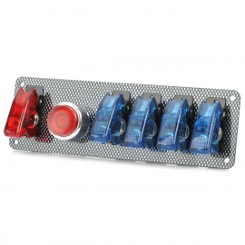Flip-up-Switch-Panel-for-Sport-Racing-Car-(DC-12V)