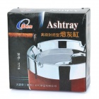 Stainless Steel Rotatable Cover Cigarette Ashtray (Size-L)