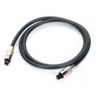Optical Fiber Digital Audio Toslink Male to Male Cable (85cm)