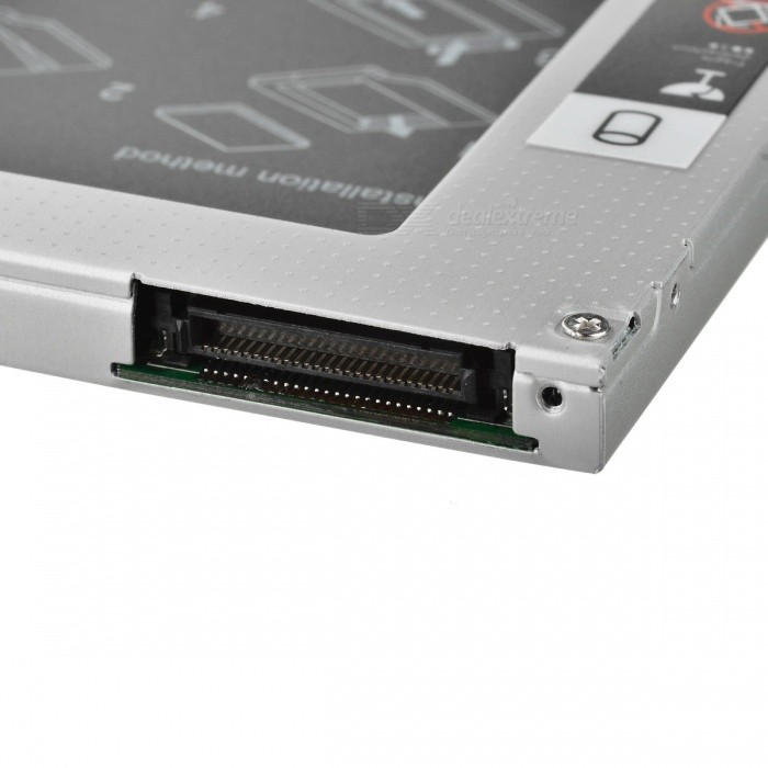 Universal 2 5 Sata To Ide Hdd Caddy For 9 5mm Optical Drive Free