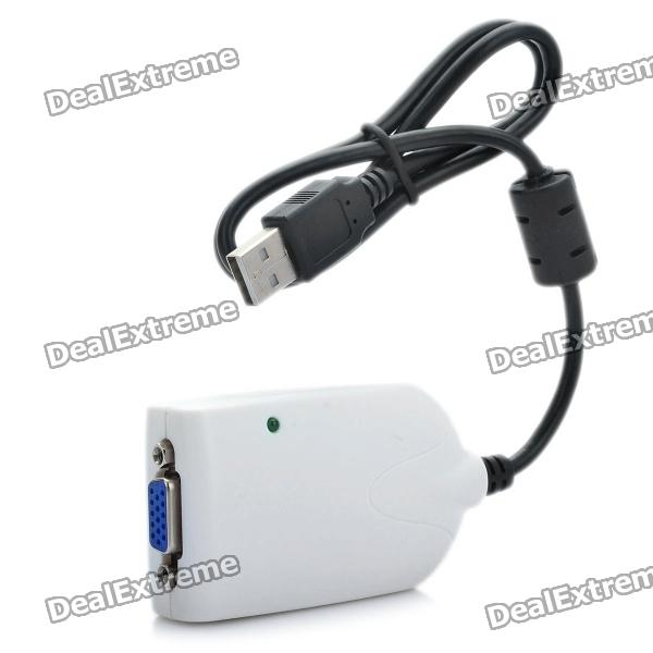 Buy USB 2.0 Video Card Adapter To VGA Graphics Display with Litecoins with Free Shipping on Gipsybee.com