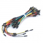 Breadboard Jumper Cable Wires for Electronic DIY (65PCS)