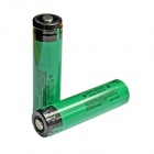 Genuine Panasonic 18650 3100mAh Rechargeable Battery with Protection Board - Green (Pair)