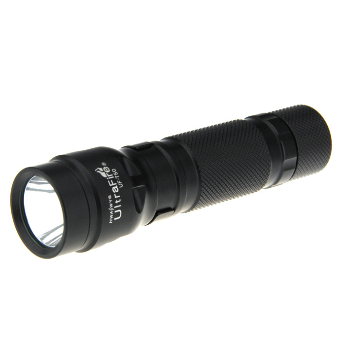 UltraFire UF-T50 2-Mode 800LM White LED Flashlight w/ Magnet (1 x 18650 / 2 x 16340)
