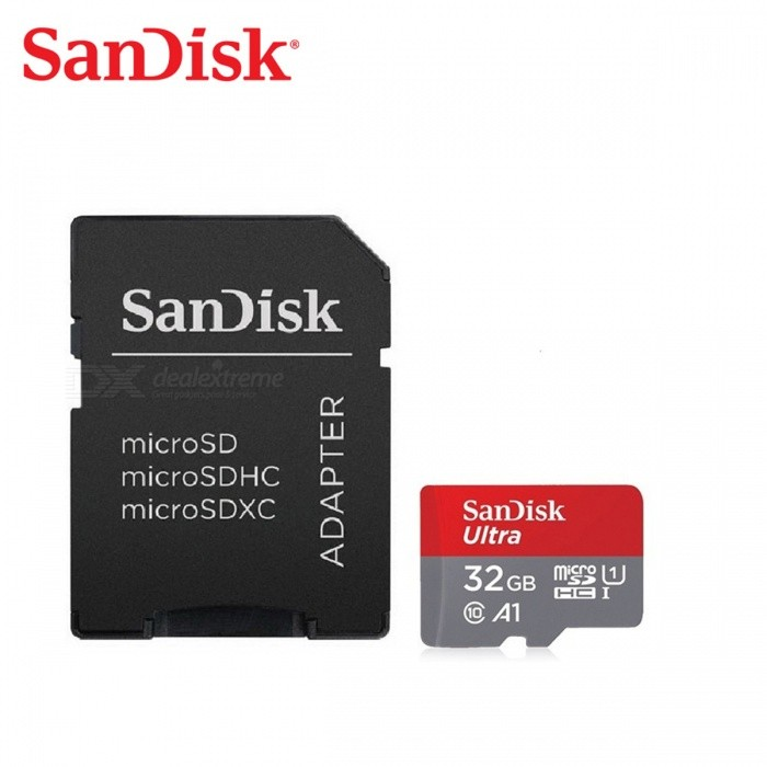SanDisk Mobile Ultra 533X MicroSDHC Card w/SD Adapter (32GB /Class 10)