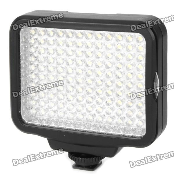 9W 120-LED White Light Video Lamp with Filter for Camera/Camcorder