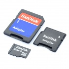 Genuine Sandisk Micro SD/TF Card con adattatore SD (32GB)
