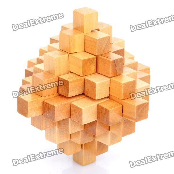Brain Teaser Disassemble Reassembling Rebuild Puzzle Toy - Wood