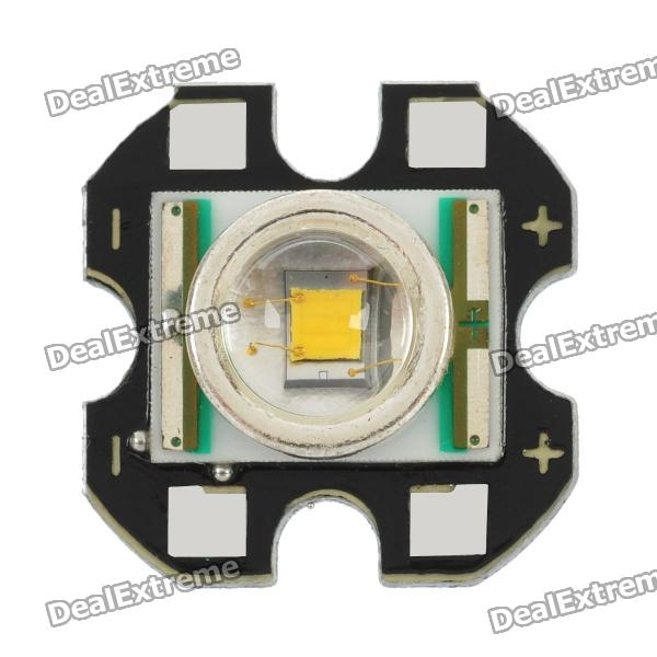15mm Cree XR-E P4 Warm White LED Light Aluminum PCB Board Module