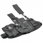 Outdoor War Game Military Gun Pistol Holster - Black