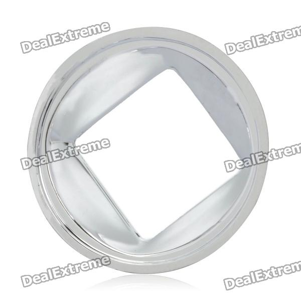 100W Smooth Reflector (50mm)Reflectors<br>Form  ColorSilverMaterial:Suitable Bulb TypeLEDPacking List<br>